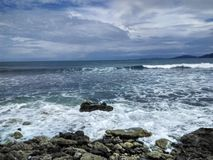 Spiaggia dell'Aceh Fotografia Stock Libera da Diritti