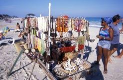 SPIAGGIA DELL'AMERICA CUBA VARADERO Fotografia Stock
