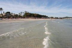 Spiaggia dell'Andalusia Fotografie Stock Libere da Diritti