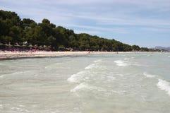 Spiaggia dell'Andalusia Immagine Stock