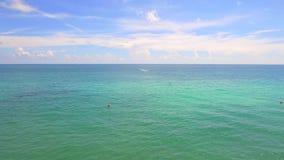 Spiaggia dell'antenna di Miami video d archivio