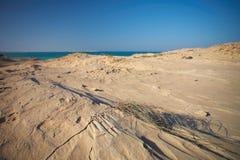 Spiaggia dell'arenaria Fotografia Stock Libera da Diritti