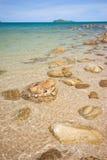 Spiaggia dell'Asia Fotografia Stock