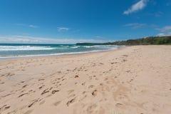 Spiaggia dell'Australia Wollongong Immagini Stock Libere da Diritti