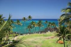 Spiaggia dell'Hawai Kona Fotografia Stock Libera da Diritti