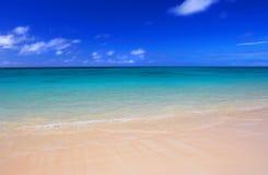 Spiaggia dell'icona immagini stock libere da diritti