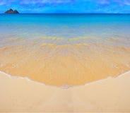 Spiaggia dell'icona - Hawai Immagine Stock