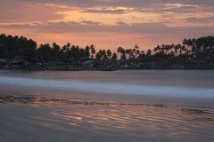 Spiaggia dell'India - di Goa - di Palolem Immagine Stock