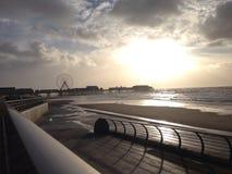 Spiaggia dell'Inghilterra Immagine Stock
