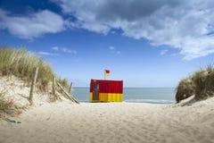 Spiaggia dell'Irlanda Fotografia Stock