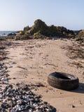 Spiaggia dell'Irlanda del Nord Immagine Stock Libera da Diritti