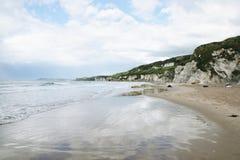 Spiaggia dell'Irlanda del Nord Immagini Stock