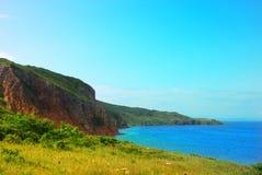 Spiaggia dell'isola Fotografia Stock