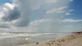 Spiaggia dell'isola di cappellano, il Texas archivi video
