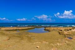 Spiaggia dell'isola di Creta di paradiso Fotografia Stock