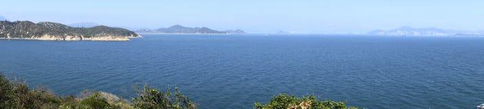 Spiaggia dell'isola di Hong Kong Cheung Chau Immagini Stock Libere da Diritti