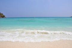 Spiaggia dell'isola di Raya di Phuket Tailandia Fotografie Stock Libere da Diritti