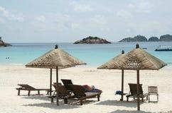 Spiaggia dell'isola di Redang Fotografie Stock