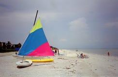 Spiaggia dell'isola di Sanibel Immagine Stock Libera da Diritti