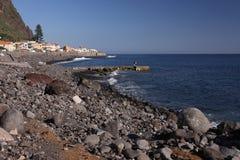 Spiaggia dell'oceano Fotografia Stock