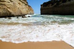 Spiaggia dell'oceano Fotografie Stock