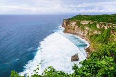 Spiaggia dell'oceano in Bali Fotografie Stock Libere da Diritti