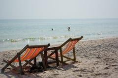 Spiaggia dell'oceano della Tailandia Fotografie Stock