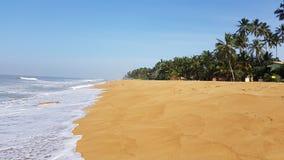 Spiaggia dell'Oceano Indiano fotografia stock libera da diritti