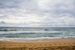 Spiaggia dell'oceano Pacifico Immagini Stock