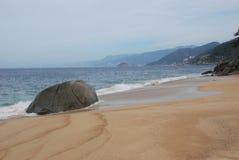 Spiaggia dell'Oceano Pacifico nel Messico Fotografie Stock