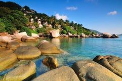 Spiaggia dell'oceano in Tailandia Fotografie Stock Libere da Diritti