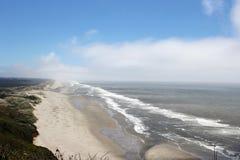 Spiaggia dell'Oregon Fotografie Stock