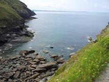 Spiaggia della baia fotografia stock