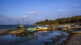 Spiaggia della baia di Arugam, Sri Lanka Fotografia Stock