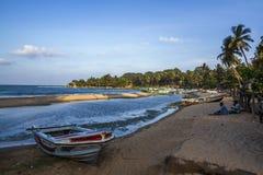 Spiaggia della baia di Arugam, Sri Lanka Fotografie Stock