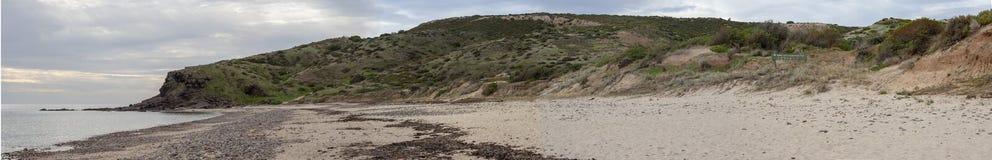 Spiaggia della baia di Hallett fotografia stock libera da diritti
