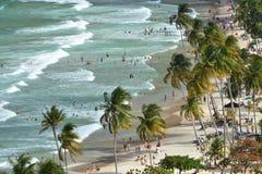 Spiaggia della baia di maracas fotografie stock