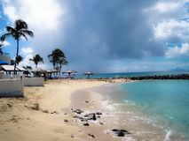 Spiaggia della baia di Oriente fotografie stock