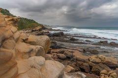Spiaggia della baia di Thompsons Fotografie Stock Libere da Diritti