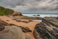 Spiaggia della baia di Thompsons Immagini Stock Libere da Diritti