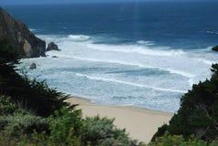 Spiaggia della California Immagini Stock Libere da Diritti