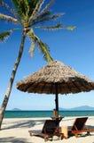 Spiaggia della Cina - del Vietnam fotografia stock