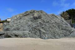 Spiaggia della Cina una gemma nascosta dell'area di ricreazione nazionale di Golden Gate, 14 Immagini Stock Libere da Diritti