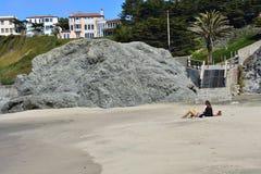 Spiaggia della Cina una gemma nascosta dell'area di ricreazione nazionale di Golden Gate, 15 Fotografia Stock Libera da Diritti