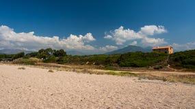 Spiaggia della Corsica Fotografia Stock
