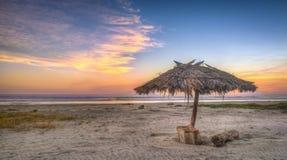 Spiaggia della Costa del Sol Fotografia Stock Libera da Diritti