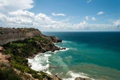 Spiaggia della Crimea Immagine Stock