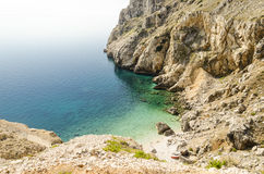 Spiaggia della Croazia Fotografia Stock
