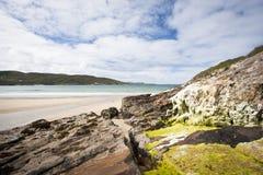 Spiaggia della Donegal Fotografia Stock