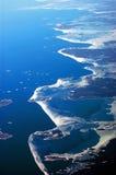 Spiaggia della Finlandia Fotografia Stock Libera da Diritti